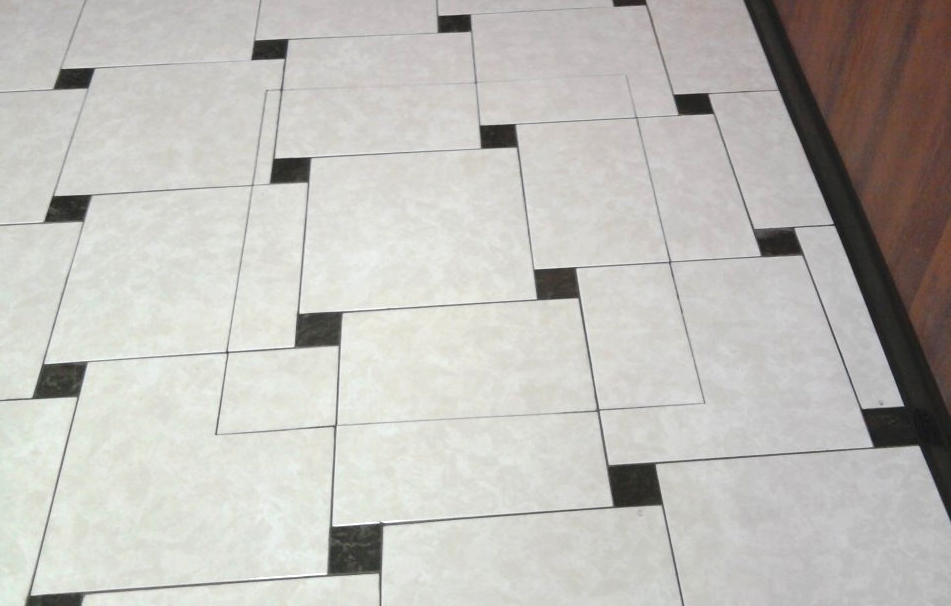Раскладка плитки со сдвигом