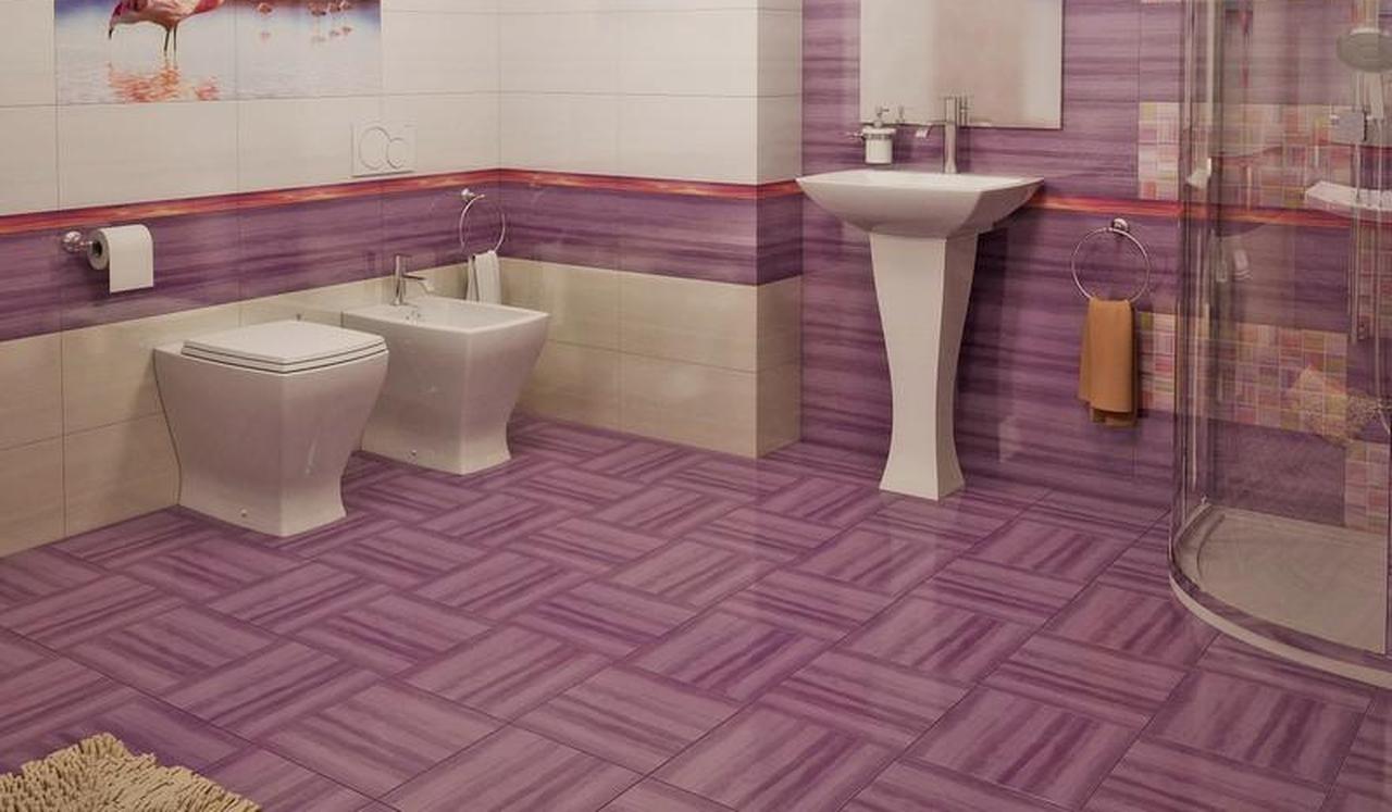 Укладка плитки на пол ванной